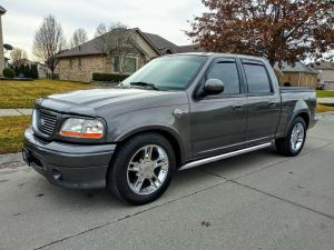 2002 Ford F 150 HARLEY DAVIDSON EDITION V8 SUPERCHARGED
