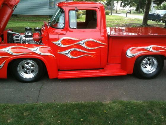 1956 Ford F100 355 super charged Engine RWD Automatic