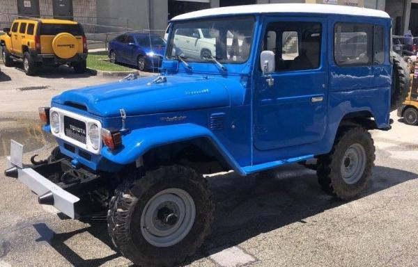 1978 Toyota Land Cruiser FJ40 OFFROAD 6 CYLINDERS IN LINE