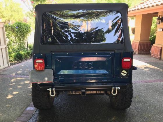 1984 Jeep CJ Completely Restored Rebuilt 350 Chevy
