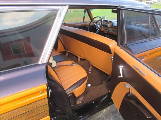 1963 FORD GALAXY COUNTRY SQUIRE WAGON