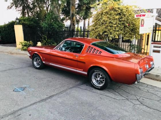 1966 Ford Mustang REAL GT FASTBACK