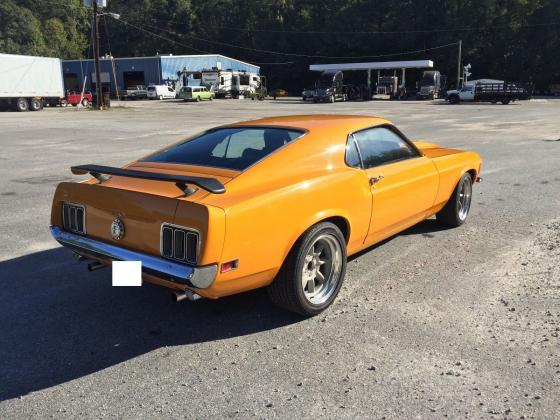 1970 Ford Mustang Yellow