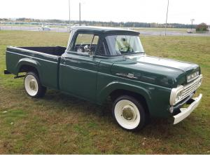 1958 Ford F-100 Short Bed Pickup